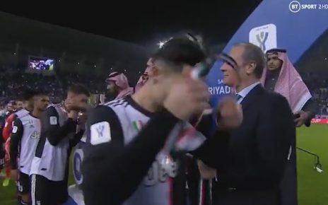 โรนัลโด้ ถอดเหรียญรองแชมป์ออกหลังพึ่งได้มาหลังแพ้นัดชิงครั้งแรกในรอบ 6 ปี